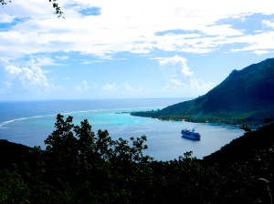 The Gauguin at Oponohu Bay, Moorea