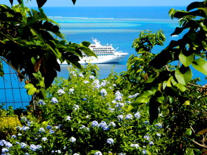 The Gauguin at Moorea